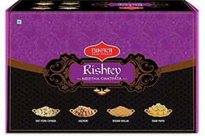 Bikaji Rishtey Meetha Chatpata Gift Pack 1.15 Kg