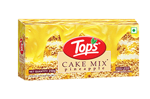 Tops Cake Mix Pineapple 250 gm