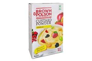 Brown & Polson Custard Powder Vanilla 500 gm