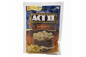 Act II Popcorn 70 gm Butter Pepper