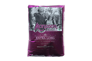 Monsoon Extra Long Basmati Rice 1 KG