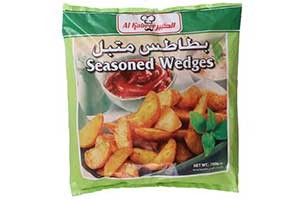Al Kabeer Seasoned Wedges 750 gm