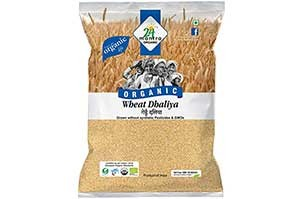 24 Mantra Organic Wheat Dalia 500 gm