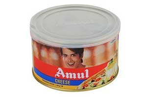Amul Cheese Tin 400 Gm