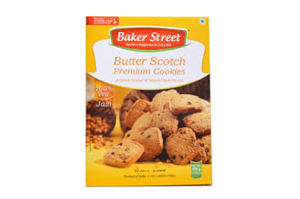 Baker Street Butter Scotch Cookies 150 gm