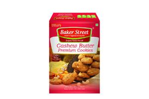 Baker Street Cashew Butter Premium Cookies 150 gm