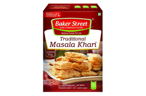 Baker Street Traditional Masala Khari 150GM