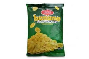 Bikaji Banana Chips Salt and Pepper 90 gm