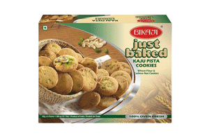 Bikaji Just Baked Kaju Pista Cookies 200GM
