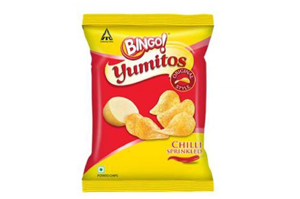 Bingo Yumitos Chilli Sprinkled 30 gm