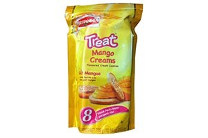 Britannia Treat Mango Creams 8pcs 288 gm