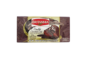 Britannia Double Chocolate Cake 250 gm