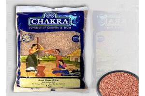 Chakra Red Raw Rice 1KG