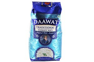 Daawat Traditional Basmati Rice 1 KG