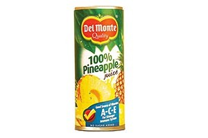 Del Monte 100% Pineapple Juice 240 ML
