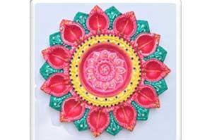 11 Faces Diwali Thali