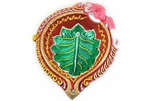 Decorative Big Clay Diya (7)
