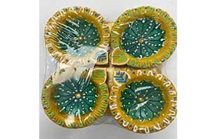 Decorative Clay Diya (4)