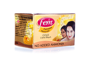 Fem Gold Cream Bleach 8GM