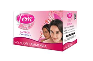 Fem Saffron Cream Bleach 8GM