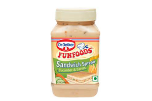 Funfoods Sandwich Spread Cucumer and Carrot 300 gm