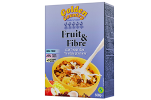 Golden Country Fruit & Fiber Cornflakes 500 gm