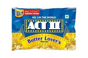 Act II Popcorn Butter Lovers 70gm