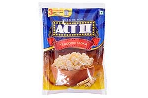 Act II Popcorn 70gm Tandoori Tadka