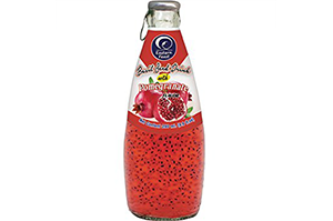 MPS Basil Seed Drink (Pomegranate) 290 ml