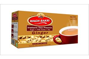 Wagh Bakri Ginger Instant Tea Premix 140GM